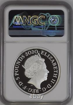 2020 Royal Mint Three Graces Silver Proof Two Ounce 2oz NGC PF70 UCAM FR