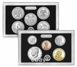 2020 S Silver Proof Set 10 Coin in. 999 Silver Ultra Cameo New Release