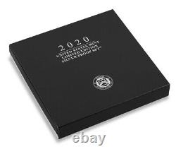 2020 S US Mint Limited Edition Silver Proof Set + COA