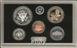 2020-S U. S. Mint SILVER PROOF Set with Jefferson (W) Reverse Proof Nickel
