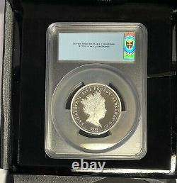 2020 Silver Proof £5 Three Graces, Alderney Mint Five Pounds. PCGS PR70 DCAM