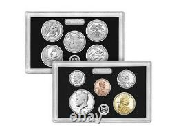 2020 Silver Proof Set 11 Coins Total with Reverse Proof W Nickel