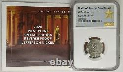 2020 Silver Proof Set 11 Coins Total with Reverse Proof W Nickel NGC PF69
