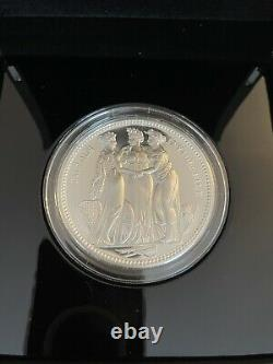 2020 Three Graces William Wyon Five Ounce Silver Proof Ten Pounds Coin (5oz)