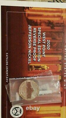 2020 US Mint Silver Proof Set With Nickel