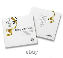 2021 CONGRATULATIONS SET with 2021 W PROOF SILVER EAGLE, 35th ANNIVERSARY, T-1