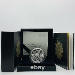 2021 Royal Mint The Queens Beasts Silver Proof Completer £2 Two Pounds Coin