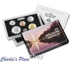 2021-S 7-Coin Silver Proof Set Presale (21RH)