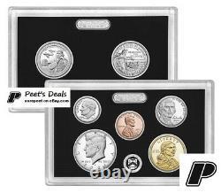 2021-S Silver Proof Set with Box & COA 21RH 99.9% Silver PRE-SALE -Mr Peet