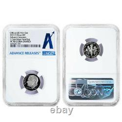 2021-S US Silver Proof Set NGC PF70UC Advanced Releases