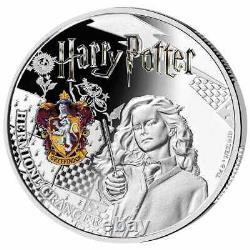 2021 Samoa $5 Harry Potter 3 x 1 oz. 999 Silver Proof Coin Set 1,000 Made