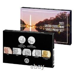 2021 US Mint Silver Proof Set (21RH)