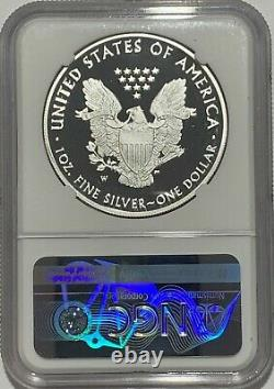 2021 W $1 Ngc Pf70 Proof Silver Eagle Congratulations Set West Point 35th Label
