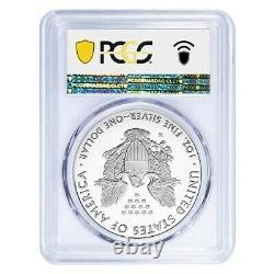 2021-W 1 oz Proof Silver American Eagle Congratulations Set PCGS PF 70 DCAM FDOI