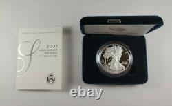 2021-W American Eagle One Ounce Silver Proof Coin 1oz (Type 1)