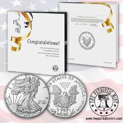 2021-W American Proof Eagle Congratulations Set (21RF)