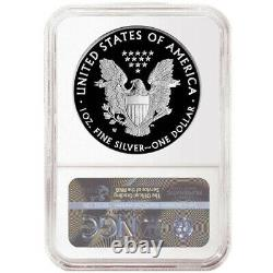 2021-W Proof $1 Type 1 American Silver Eagle Congratulations Set NGC PF70UC Brow