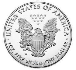 2021 W Proof Silver Eagle, Heraldic T-1 - Congratulations Set, Ngc Pf70uc Fr