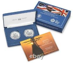 400th Anniversary of the Mayflower Voyage Silver Proof Coin/Medal Set PRE SALE