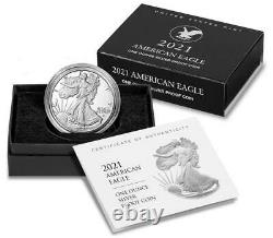 American Eagle 2021 One Ounce Silver Proof Coin West Point (W) 21EAN 3 Coin Set