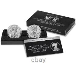 American Eagle 2021 One Ounce Silver Reverse Proof Set21 XJ Preorder Confirmed