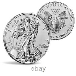 American Eagle 2021 One Ounce Silver Reverse Proof Two-Coin Set Designer Presale