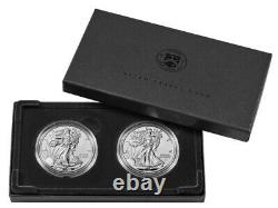 American Eagle 2021 Silver Reverse Proof Two-Coin Set Designer (Presale) READ