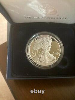 American Eagle Silver Proof Coins Set of 5 Each 1oz pure Silver Bullion. 5 oz