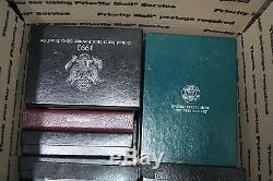 Bulk Lot of Prestige Sets, Premier Sets & U. S. Silver Proof Sets