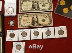 COIN LOT, collection PROOF SETS, EISENHOWER $1, NGC PF69 KENNEDY, SILVER Barber 10c
