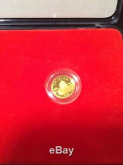 Chinese Marco Polo 1983 Proof Silver & Gold. 900 fine 3-Coin Set