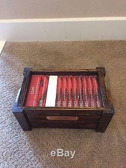 Completed 1999 2016 Silver Proof Sets With 2 Custom Made Wooden Box