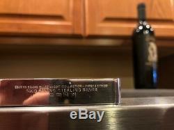 Danbury Mint United States 50 5000 Grains Silver Ingot Proof Set Wooden Case