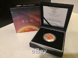 Earth and Beyond 2018 Earth 2019 Moon Sun Silver Proof Coin Set Australia 1oz