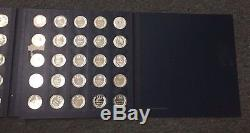 Franklin Mint 1969 States of the Union First Edition 50 Silver Coins Proof Set