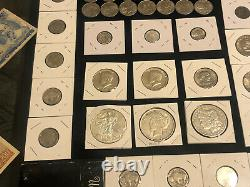 Free Shipping Estate Sale! Silver, Bicentennial, Proof Sets, Currency 175+ Coins