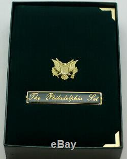 In Box 1993 Gold Silver American Eagle Proof Philadelphia Set