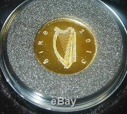 J. F. Kennedy's Visit To Ireland. 1963. Gold & Silver Proof Set. 50th Anniversary