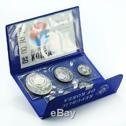 Korea set of 6 coins 5000th Anniversary of Korea proof silver 1970