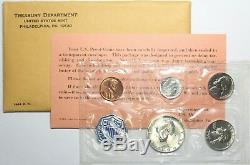 Lot Of (12) U. S. Mint Silver Proof Sets ALL 1964 GEM Condition Coins 90% Silver
