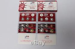 Lot of 25 U. S. Mint Silver Proof Sets Lot of 17 U. S. Mint Proof Sets