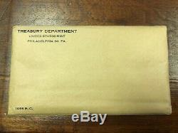Lot of (2) 1955 US Mint Silver Proof Set in Sealed Original Envelope