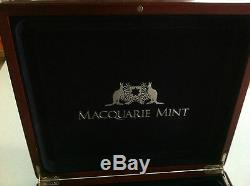 Macquarie Mint $1 Heritage 24 Silver Proof Coin Set + Red Back Redback Spider