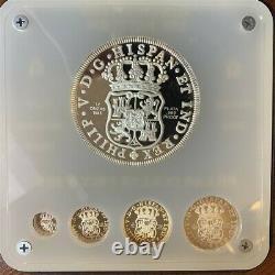 Mexico Pillar Dollar Proof Set Mint Master Die Pattern 999 Fine Silver