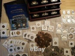 My Coin Collection! Morgan, Peace, Mercury, Buffalo, Barber, Silver, Proof Sets