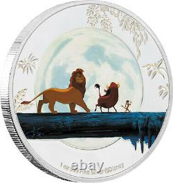 Niue 2019 4x1 OZ Silver Proof Coin Set- Disney The Lion King