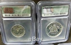 + PERFECT 1964 US 5 Coin PROOF SET Slabbed ALL GRADED PR70 withSilver Kennedy Half