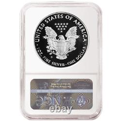 Presale 2020-S Proof $1 American Silver Eagle 3pc. Set NGC PF70UC FDI Trump La