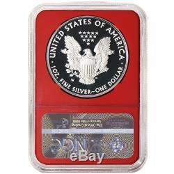 Presale 2020-W Proof $1 American Silver Eagle Congratulations Set NGC PF70UC T