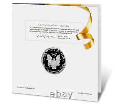 Presale 2021-W Proof $1 American Silver Eagle Congratulations Set Box OGP & CO